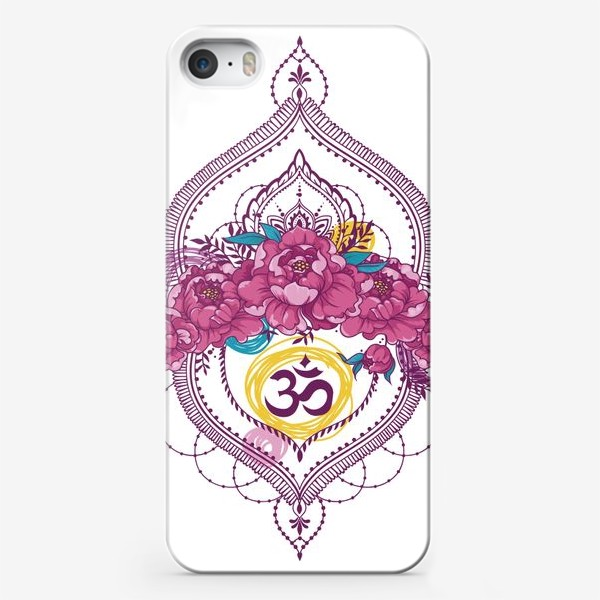 Чехол iPhone «Spring and om»
