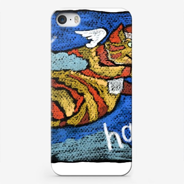 Чехол iPhone «Будь счастливым!»