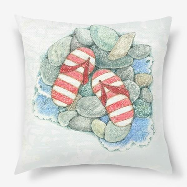 Подушка «Хочу на море!»