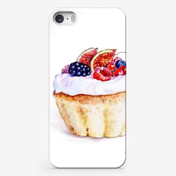 Чехол iPhone «Кекс»