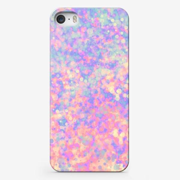 Чехол iPhone «Розовая абстракция»
