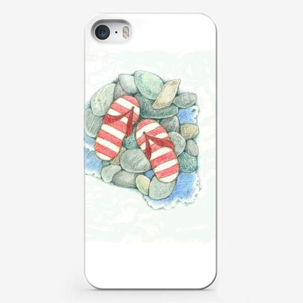 Чехол iPhone «Хочу на море!»