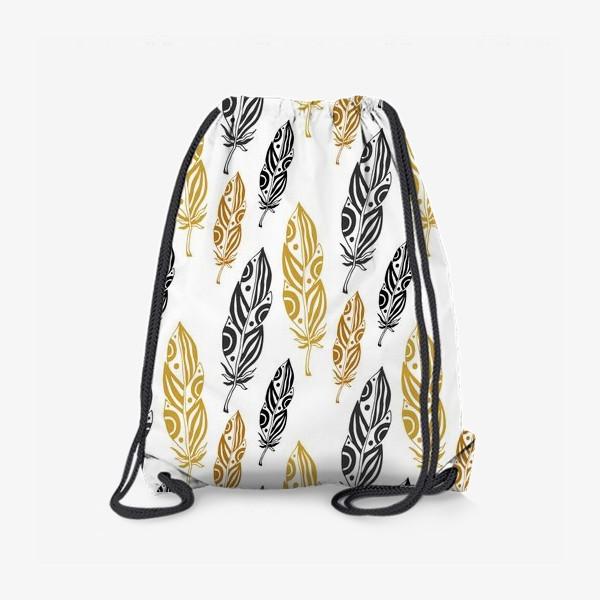 Рюкзак «Золотые перья»