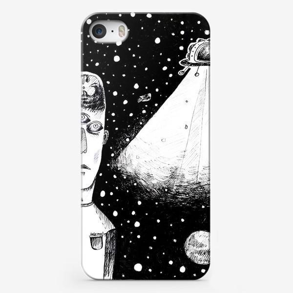 Чехол iPhone «Alien»