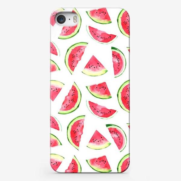 Чехол iPhone «Сочный арбузик»