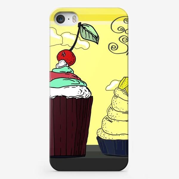 Чехол iPhone «Кексы для сладкой жизни»