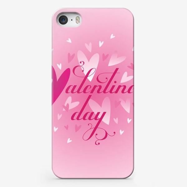 Чехол iPhone «Валентинов день!»