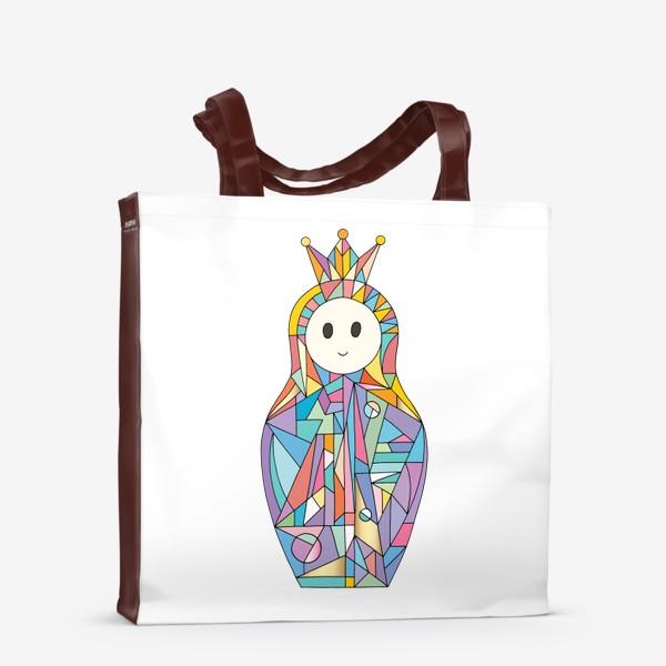 Сумка-шоппер «Матрешка аниме принцесса»