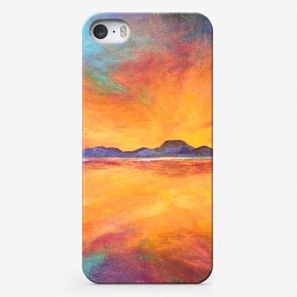 Чехол iPhone «Закат»