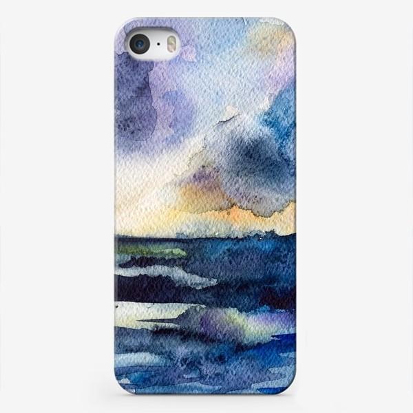 Чехол iPhone «Море волнуется»