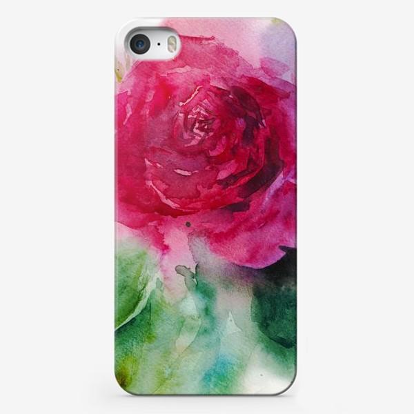 Чехол iPhone «Поэма о розе»