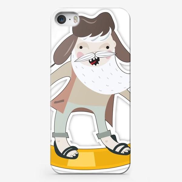 Чехол iPhone «Snowboard time!»