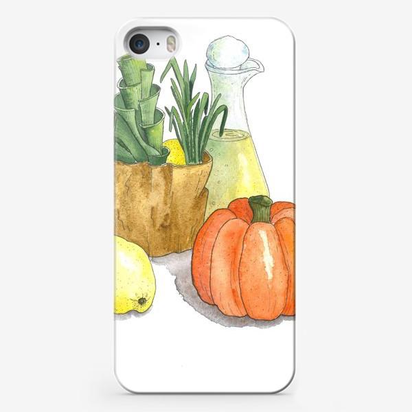 Чехол iPhone «Тыква прованс»