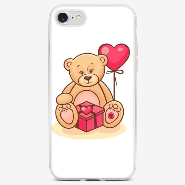 Чехол iPhone «тедди-мишка»
