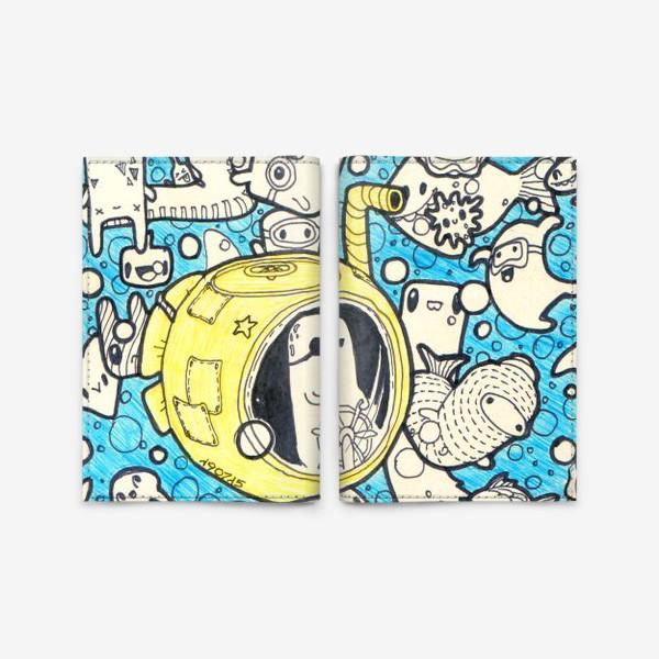 Обложка для паспорта «Yellow Submarine»