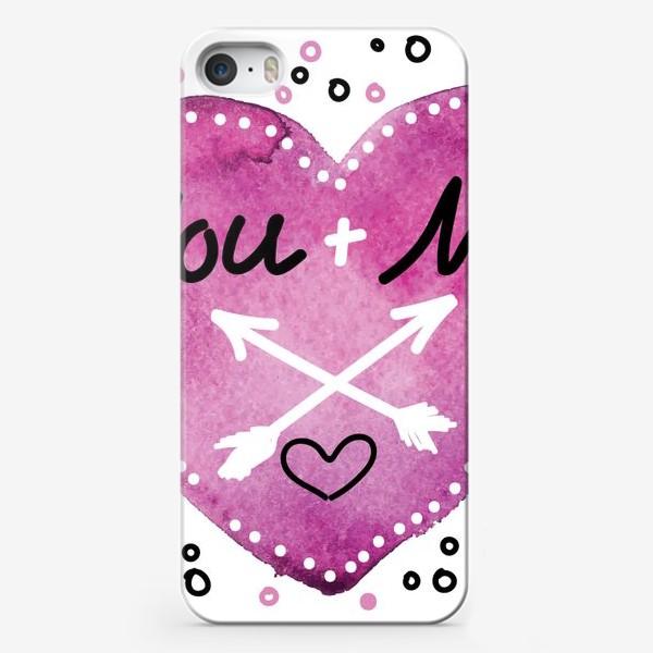 Чехол iPhone «ты + я»