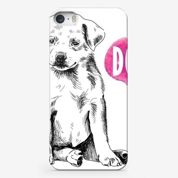 Чехол iPhone «милый щенок»