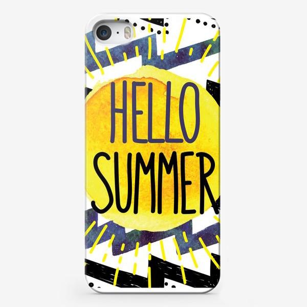 Чехол iPhone «hello summer»