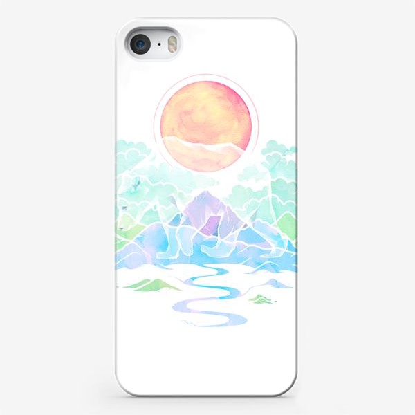 Чехол iPhone «Призрачный медведь | Нордическая сказка»