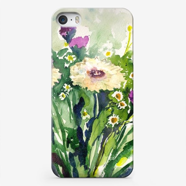 Чехол iPhone «Букет цветов / Bunch of flowers»