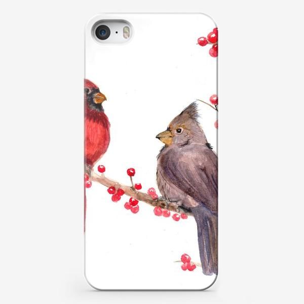 Чехол iPhone «Зима близко»