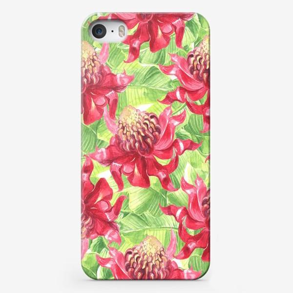Чехол iPhone «Exotic flower»