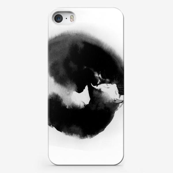 Чехол iPhone «Котик спящий»