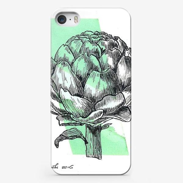 Чехол iPhone «Артишок. Графика.»