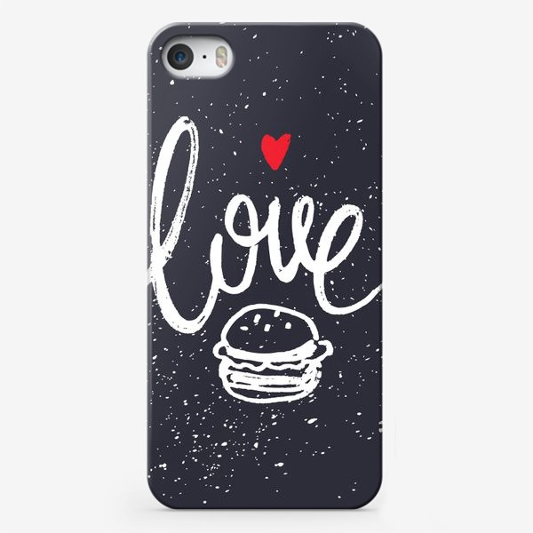 Чехол iPhone «Love Burger»