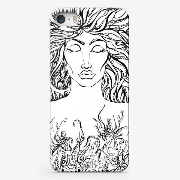 Чехол iPhone «Тишина»