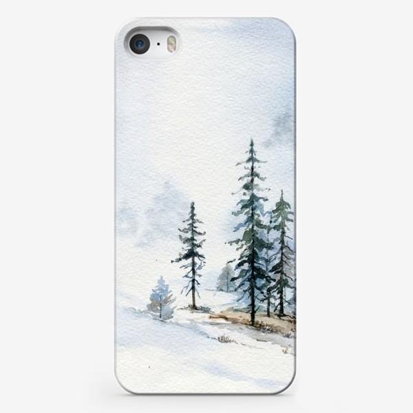 Чехол iPhone «Тихая зима»