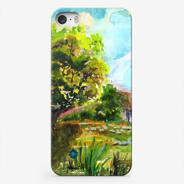 Чехол iPhone «Летний Дом»