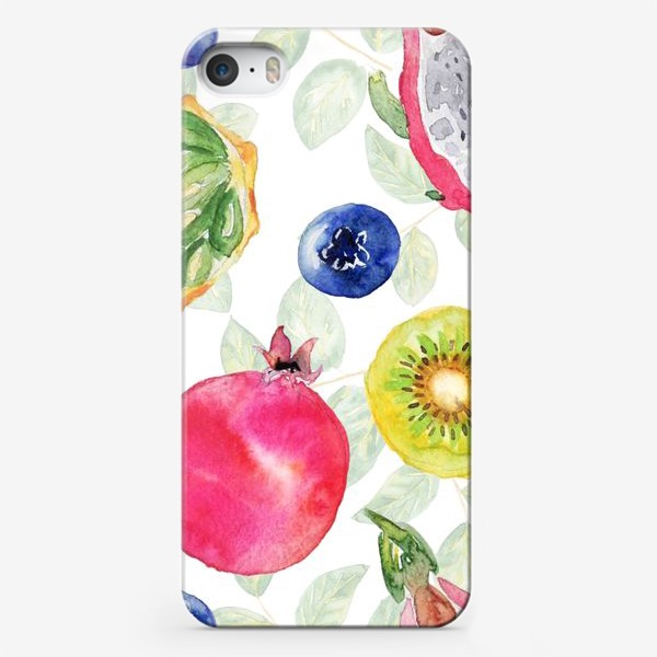 Чехол iPhone «Сочные фрукты»