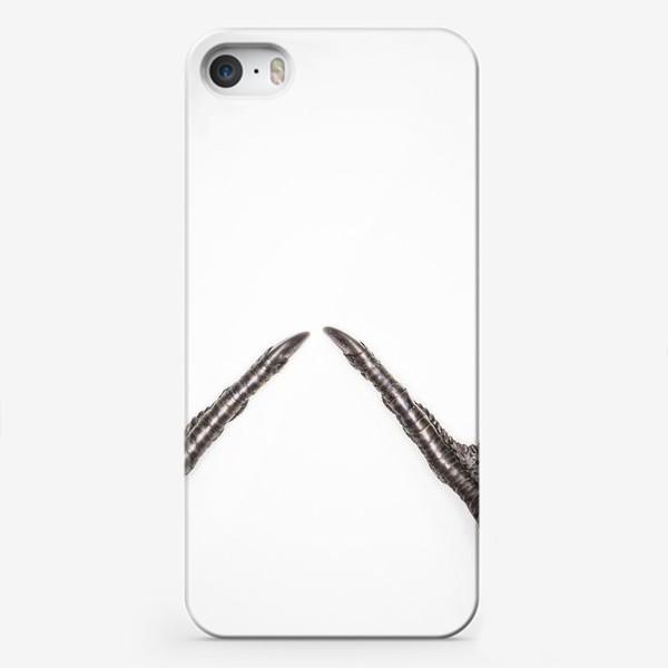 Чехол iPhone «Птичьи лапки»
