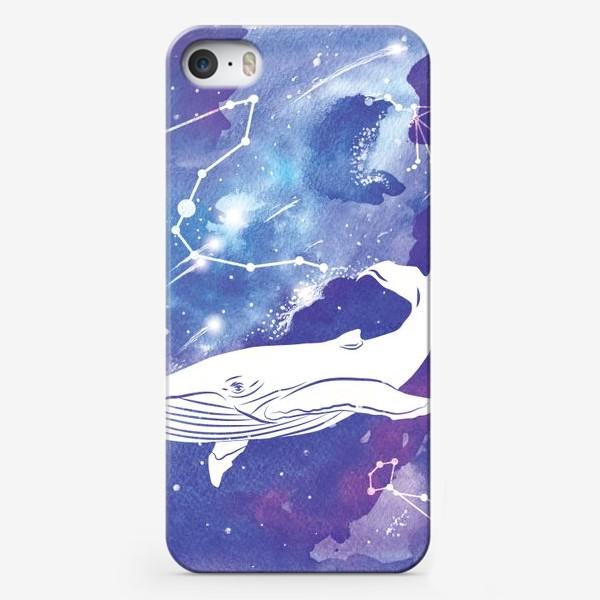 Чехол iPhone «Небесный кит»