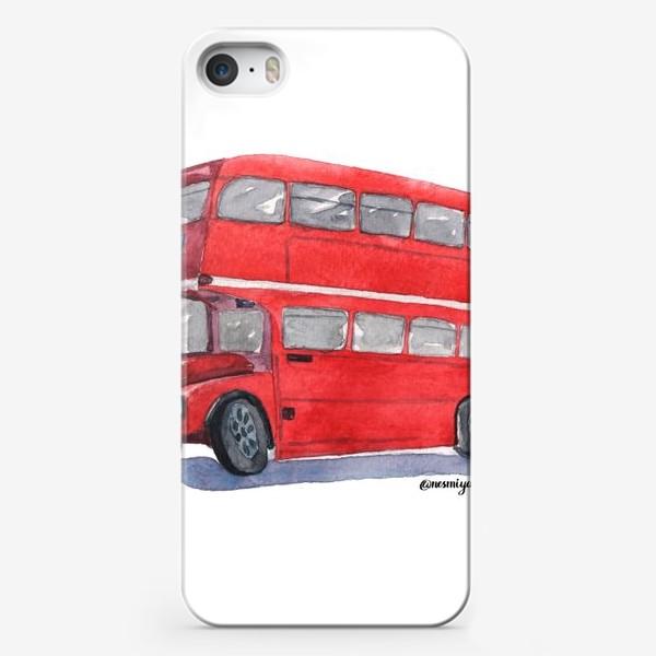 Чехол iPhone «Лондонский автобус»