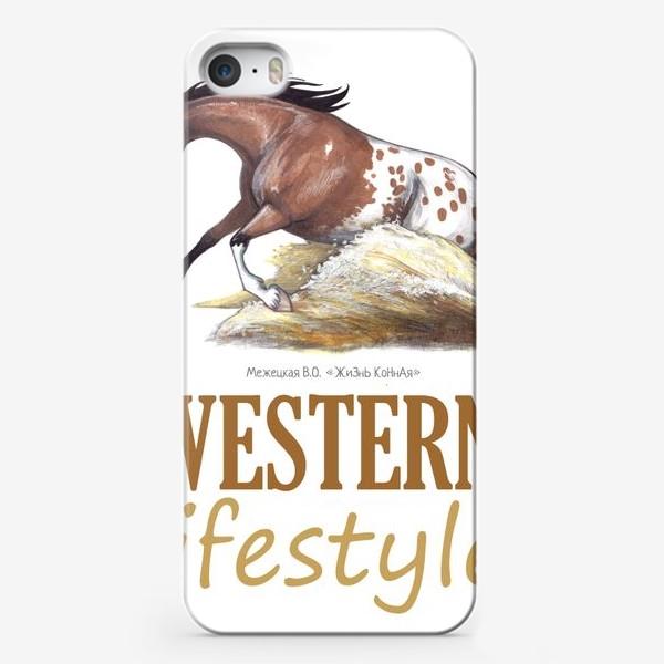 Чехол iPhone «WESTERN LIFESTYLE. ВЕСТЕРН»