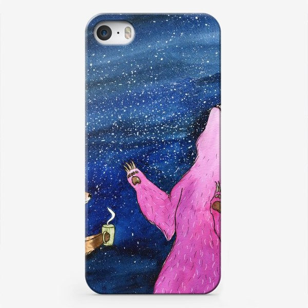 Чехол iPhone «Ночной разговор»