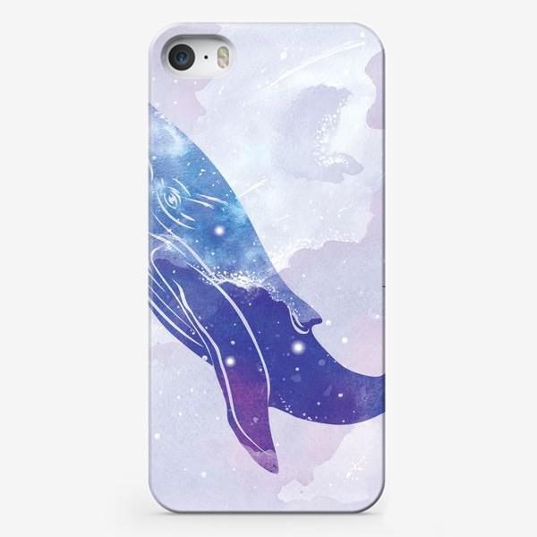 Чехол iPhone «Космический кит»