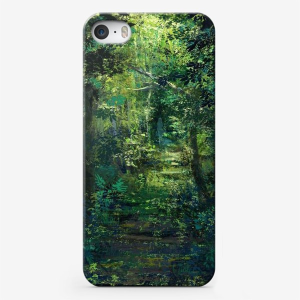 Чехол iPhone «Чем дальше в лес»