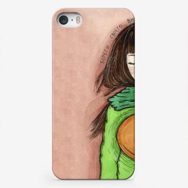 Чехол iPhone «береги своего внутреннего кота»