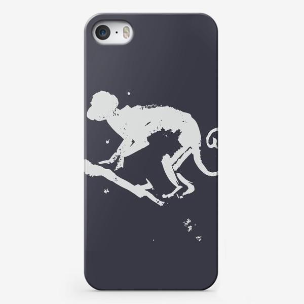 Чехол iPhone «обезьяна на ветке»