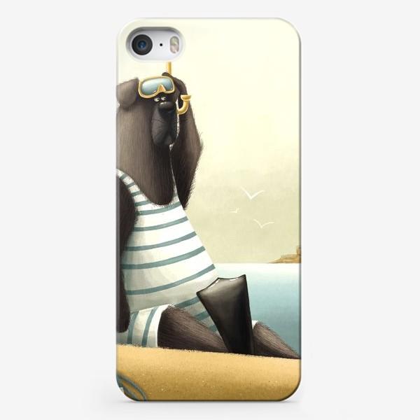 Чехол iPhone «Водолаз»