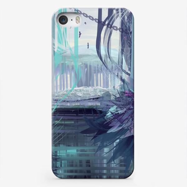 Чехол iPhone «Синие сны»