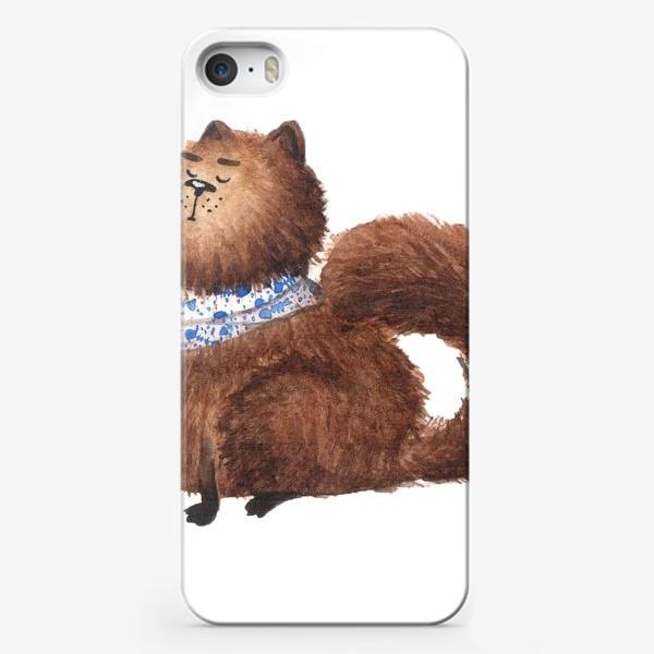 Чехол iPhone «Обиженный кот»