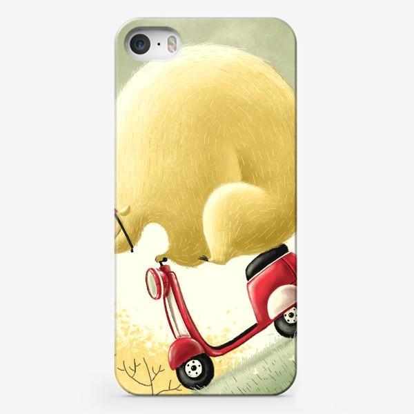 Чехол iPhone «Медведь Саймон»