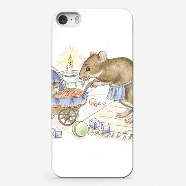 Чехол iPhone «Мама мышь»
