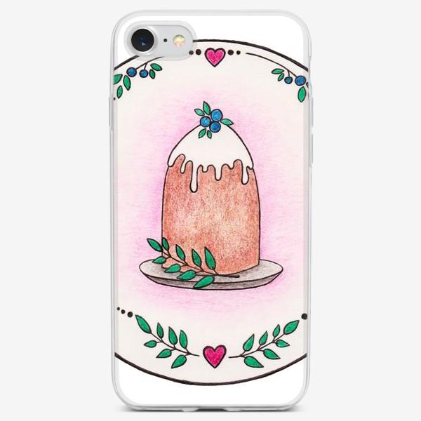 Чехол iPhone «Пирожное»