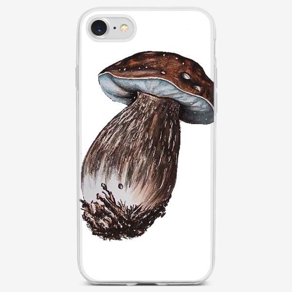 Чехол iPhone «Белый гриб»