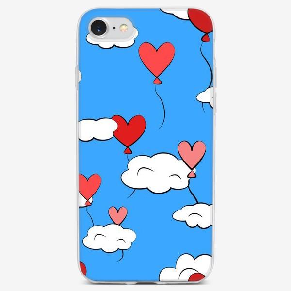 Чехол iPhone «Витая в облаках»